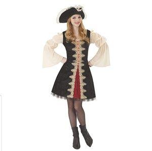 Buccaneer Beauty Pirate women's Costume One Size
